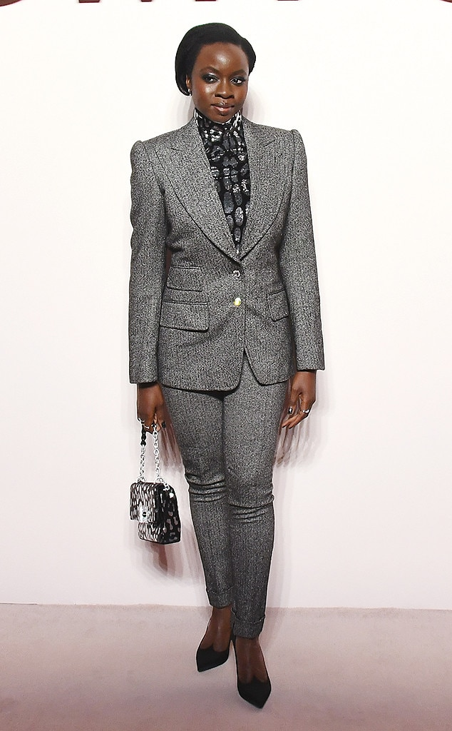 Danai Gurira -  Attended the Tom Ford show on Feb. 6, 2019.