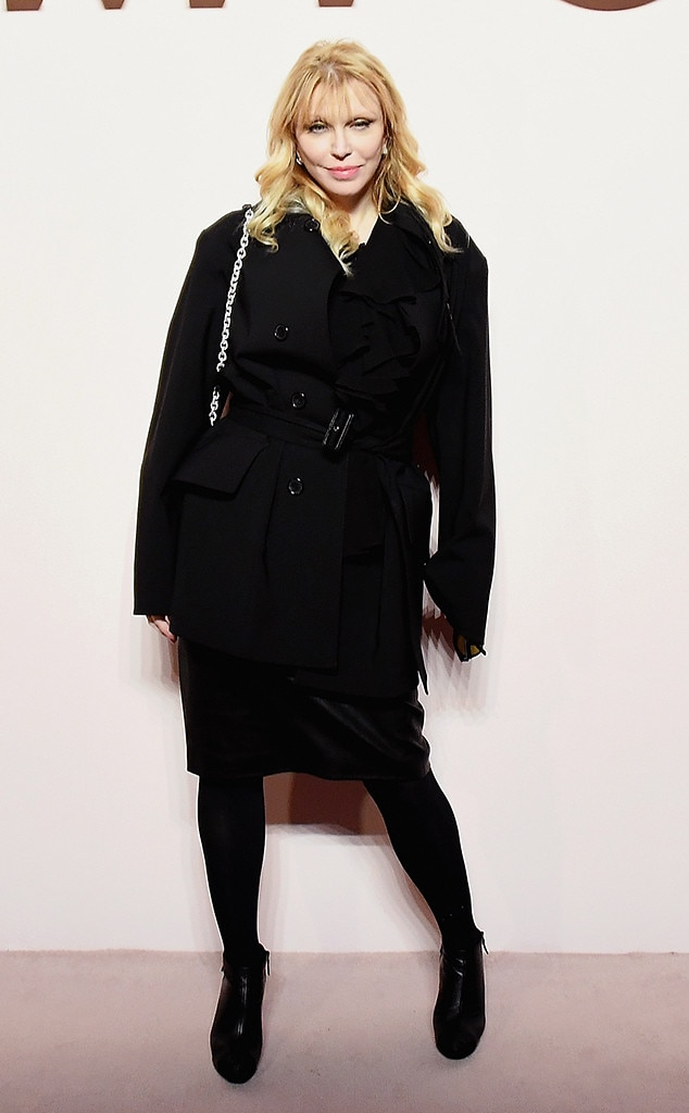 Courtney Love -  Attended the Tom Ford show on Feb. 6, 2019.