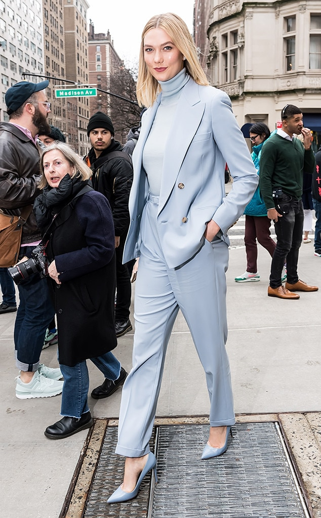 Karlie Kloss -  Attended the Ralph Lauren show on Feb. 7, 2019.