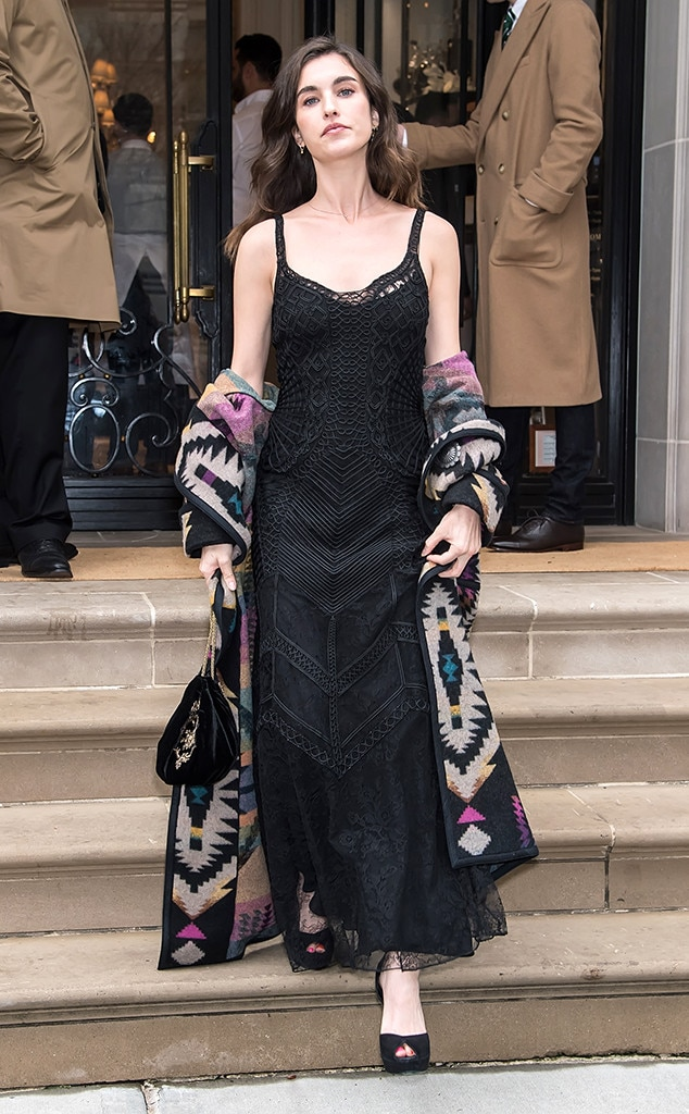 Rainey Qualley -  Attended the Ralph Lauren show on Feb. 7, 2019.