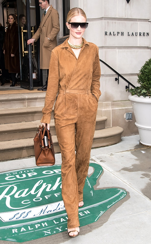 Rosie Huntington-Whiteley -  Attended the Ralph Lauren show on Feb. 7, 2019.