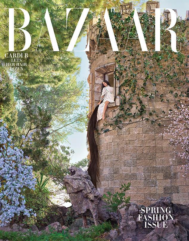 Harpers Bazaar, Cardi B