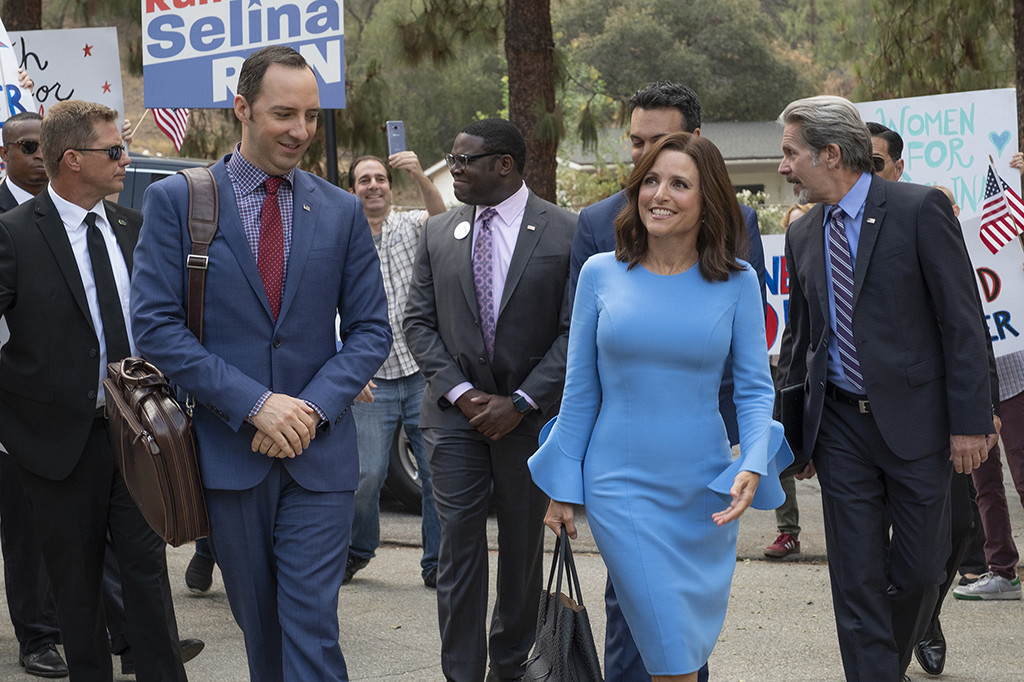 These Veep Bloopers With Julia Louis-Dreyfus and Tony Hale Will Make You Crack Up