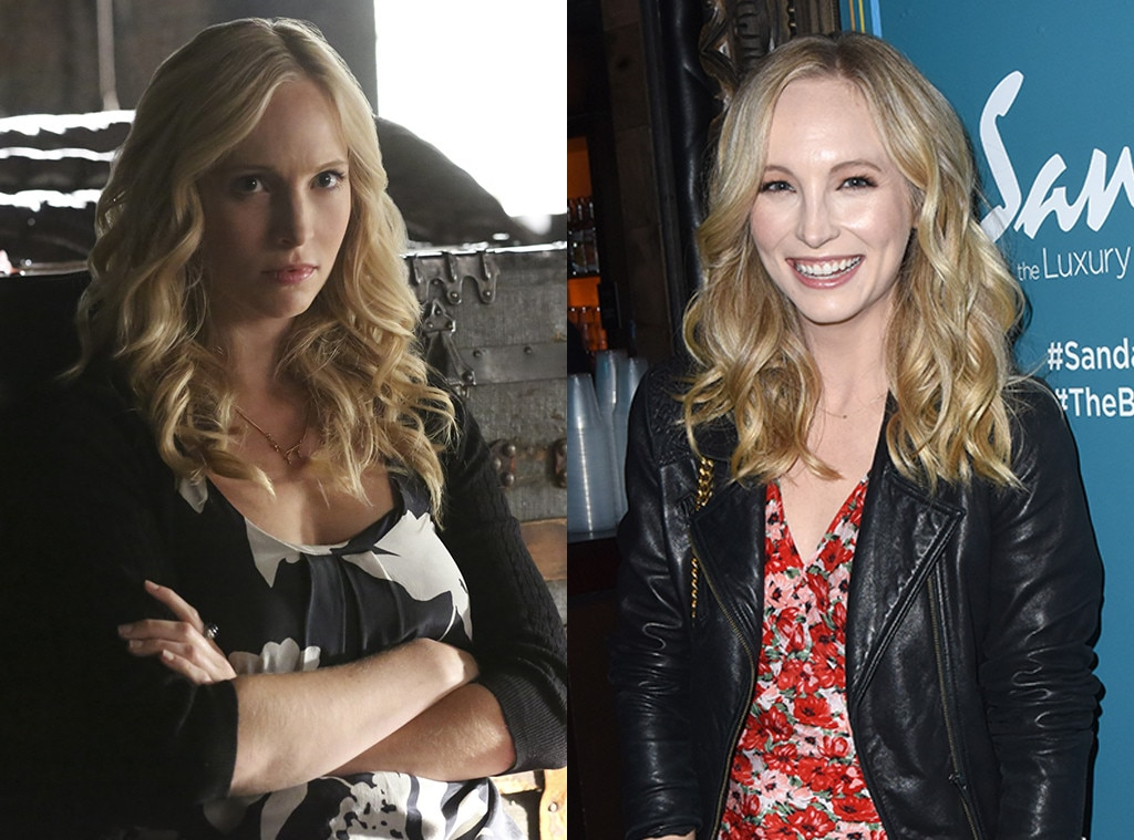 Who is caroline forbes dating in real life