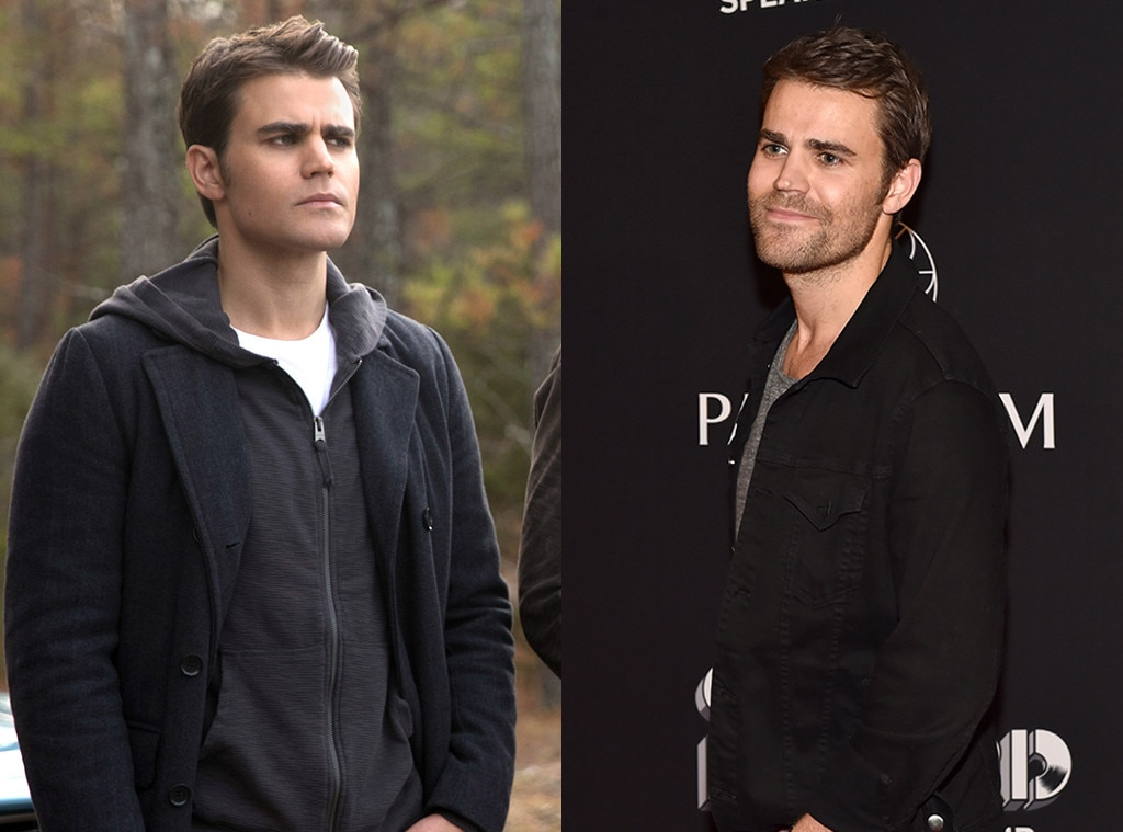 Paul Wesley Is Married See the Vampire Diaries Cast Then and Now