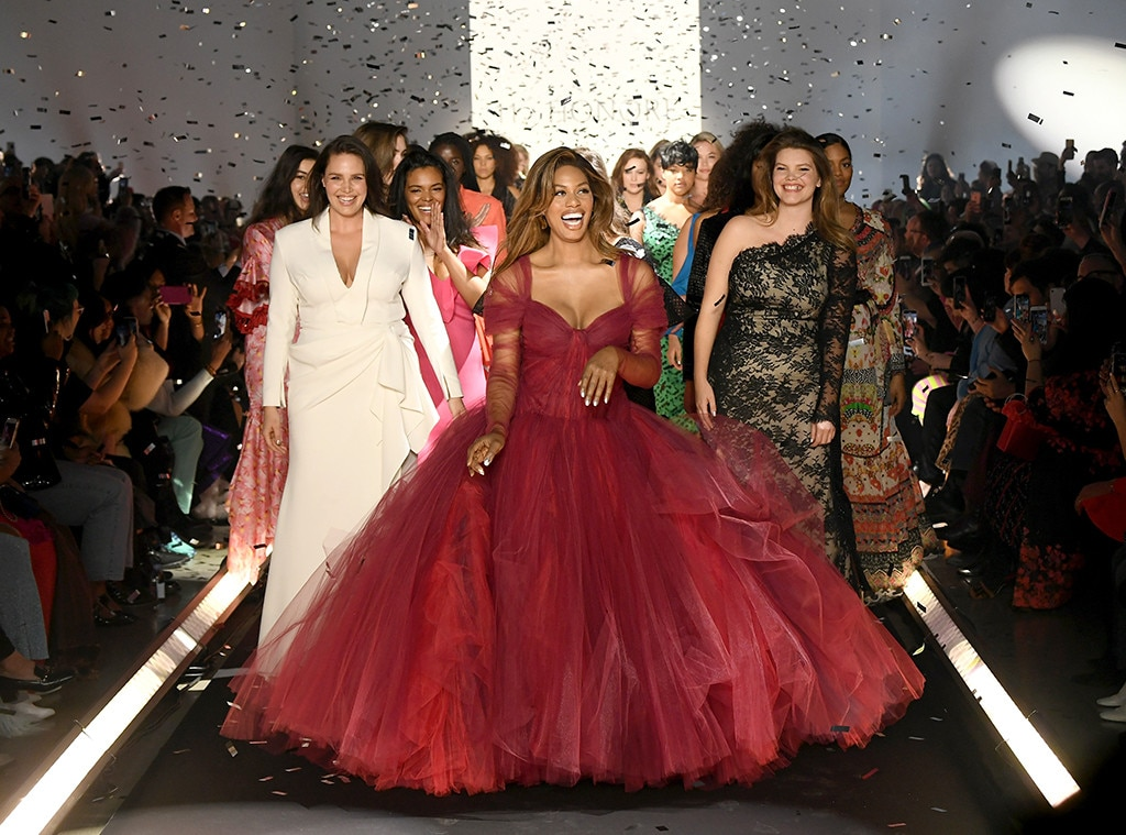 Laverne Cox, Fashion Week Best Looks