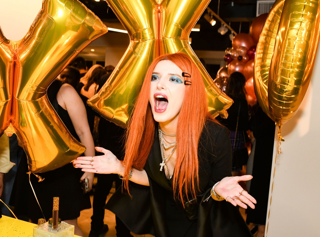 Le Board - Bella Thorne  attends The Just Drew New York Fashion Week Kick-Off party with The Daily Front Row and Ruffino.