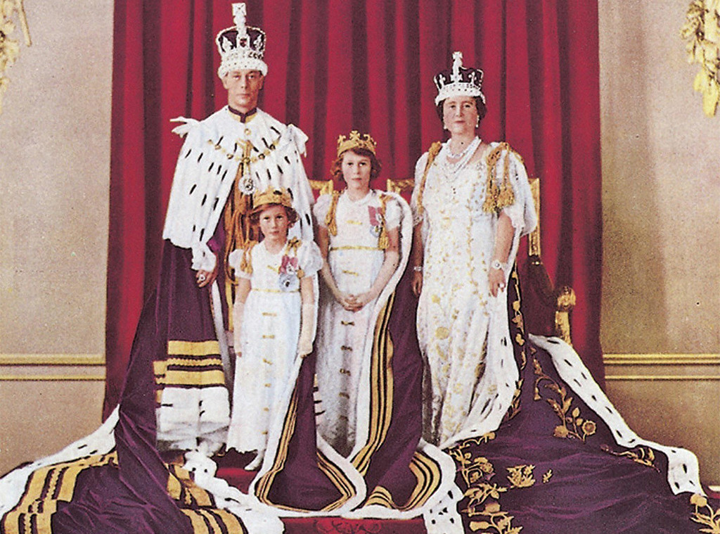 King George VI Coronation, Queen Elizabeth I, Elizabeth II, Princess Margaret
