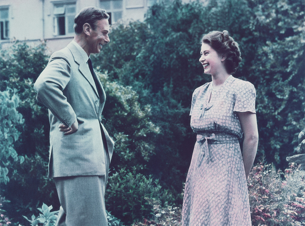 King George VI, Queen Elizabeth II
