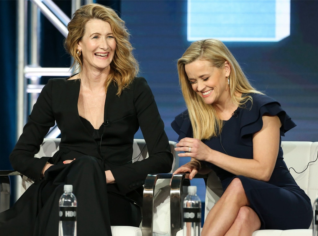 Laura Dern, Reese Witherspoon, TCA Winter Press Tour