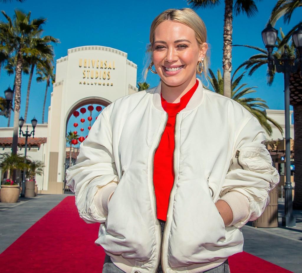 Hilary Duff, Universal Studios Hollywood