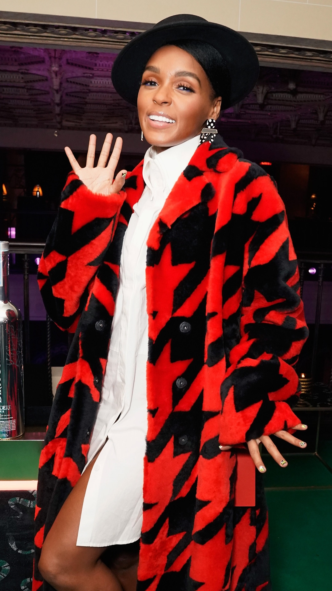 Janelle Monae, Warner Music Pre-Grammy Party