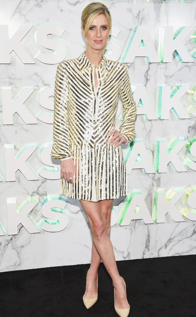 Nicky Hilton -  Attended theopening of the Saks Fifth Avenue main floor redesign on Feb. 7, 2019.