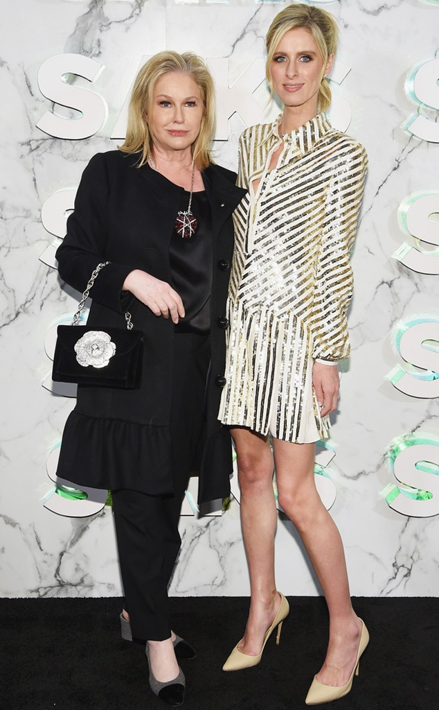 Kathy Hilton & Nicky Hilton -  Attended theopening of the Saks Fifth Avenue main floor redesign on Feb. 7, 2019.