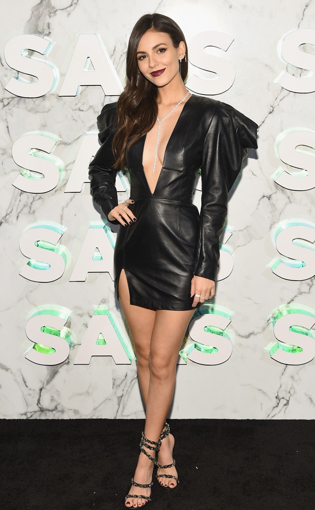 Victoria Justice -  Attended theopening of the Saks Fifth Avenue main floor redesign on Feb. 7, 2019.