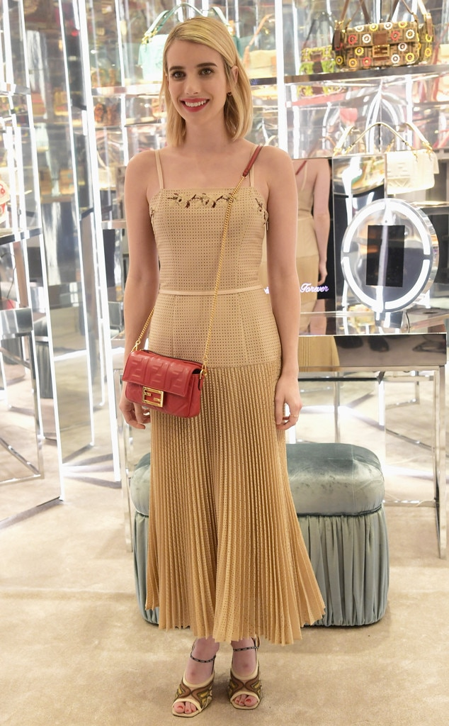 Emma Roberts -  Attended theFendi Baguette Launch on Feb. 7, 2019.