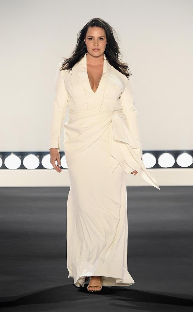 Candice Huffine, Fashion Week Best Looks