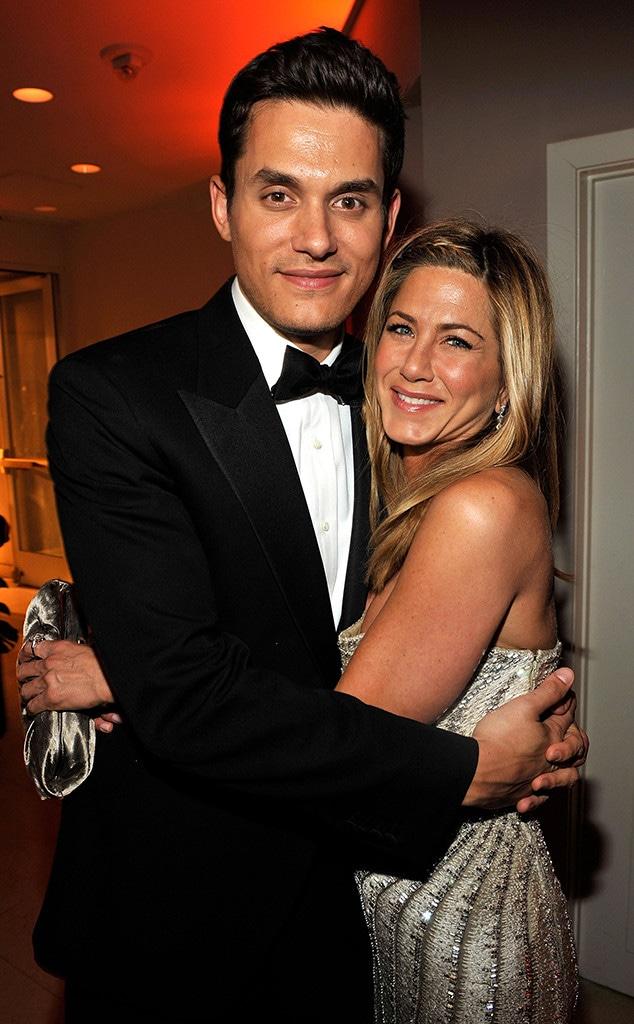 John Mayer, Jennifer Aniston, Aniston love life