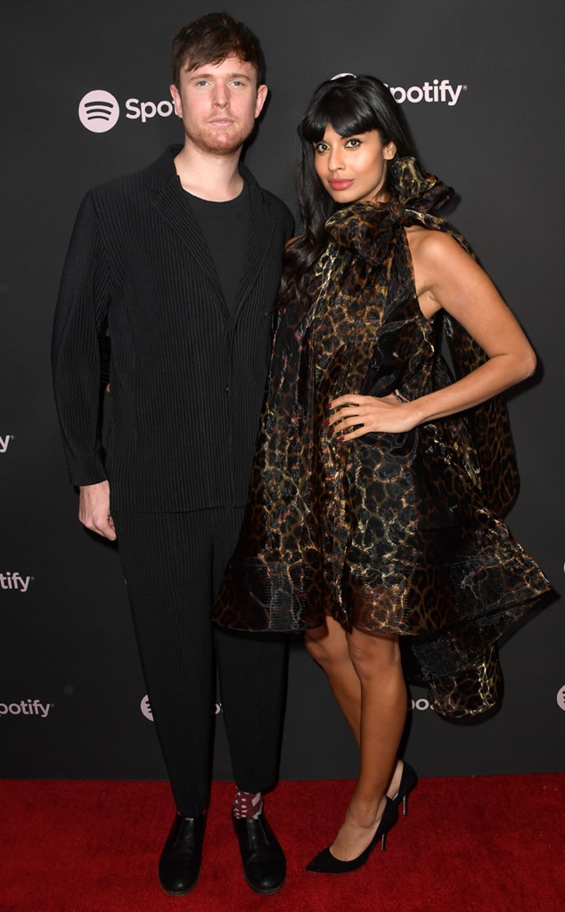 James Blake & Jameela Jamil -  The Good Place  star supports her musician boyfriend ahead of the 2019 Grammy Awards.