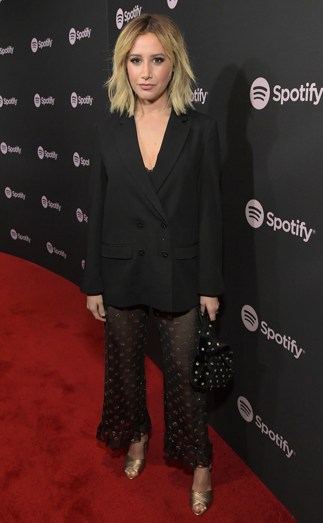 Ashley Tisdale, Spotify Best New Artist 2019 Party, Grammys