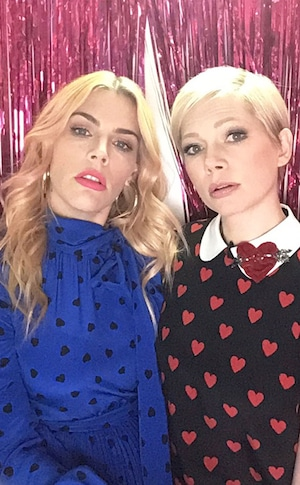 Michelle Williams, Busy Tonight, Photo Booth