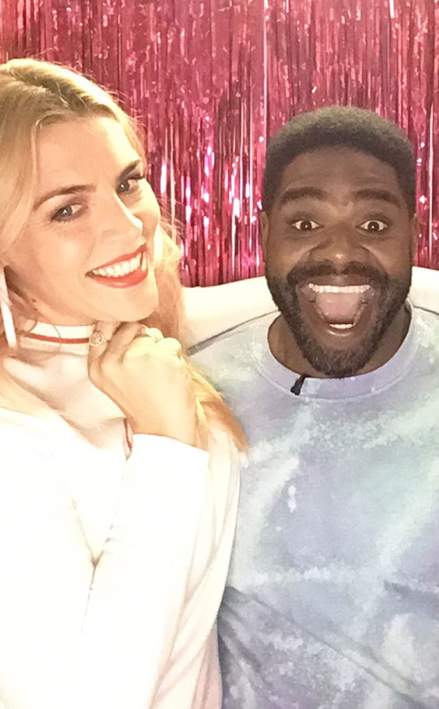Ron Funches -  The comedian has the biggest smile next to Busy!