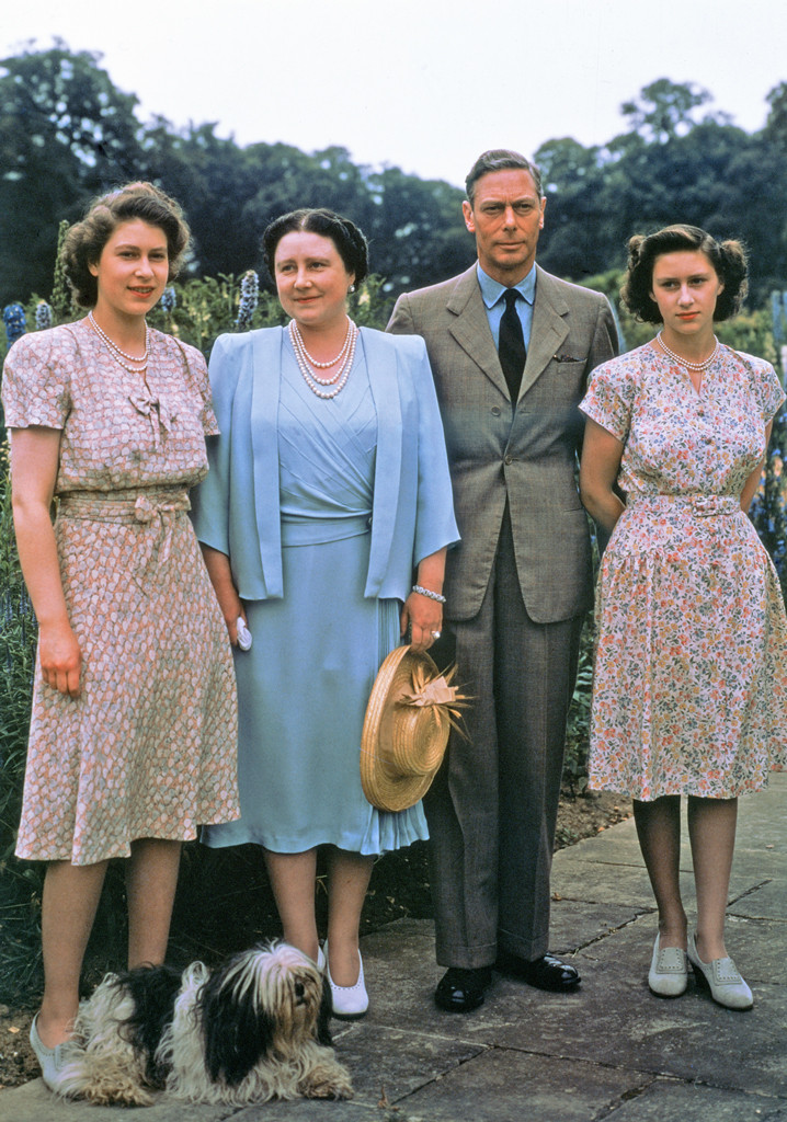 King George VI, Queen Elizabeth I, Elizabeth II, Princess Margaret