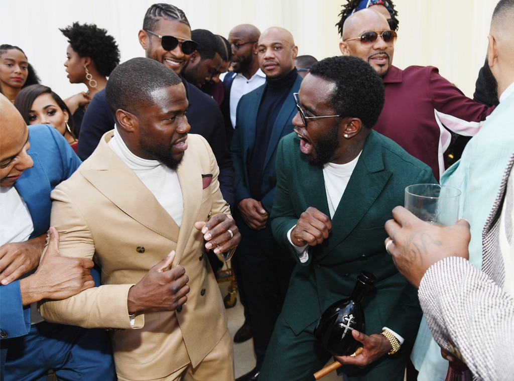 Kevin Hart, Usher, Diddy, Roc Nation Brunch