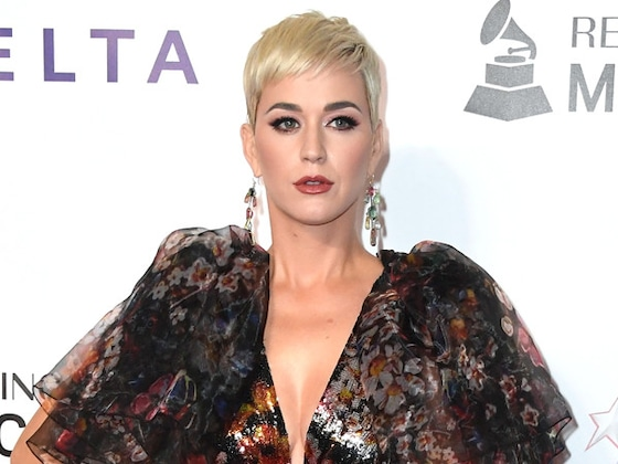¡Katy Perry se maquilló inspirada en </>Euphoria</i>!