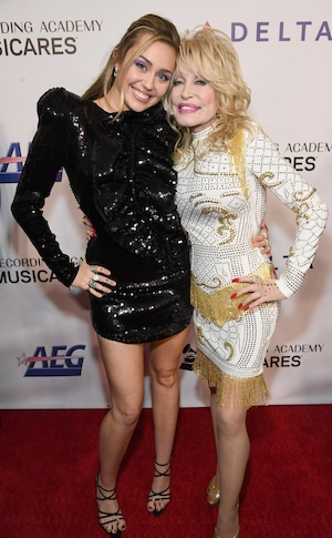 MusiCares honoring Dolly Parton, Miley Cyrus