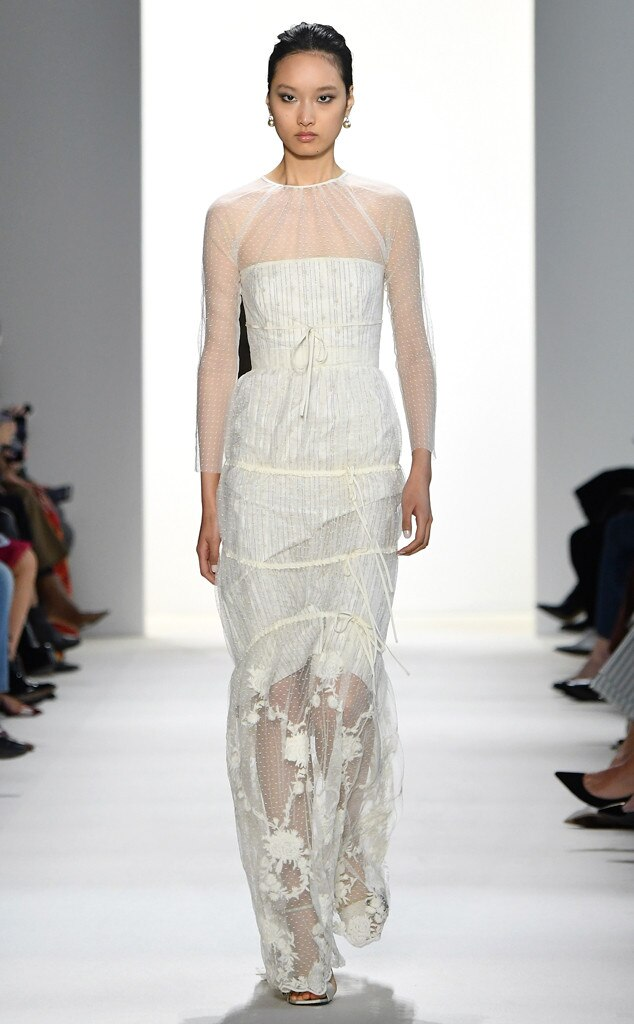 Brock Fashion Show, New York Fashion Week, Model