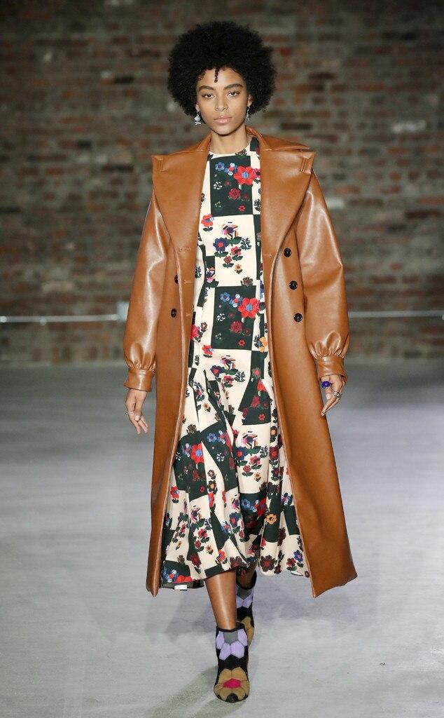 Jonathan Cohen Fashion Show, New York Fashion Week, Model