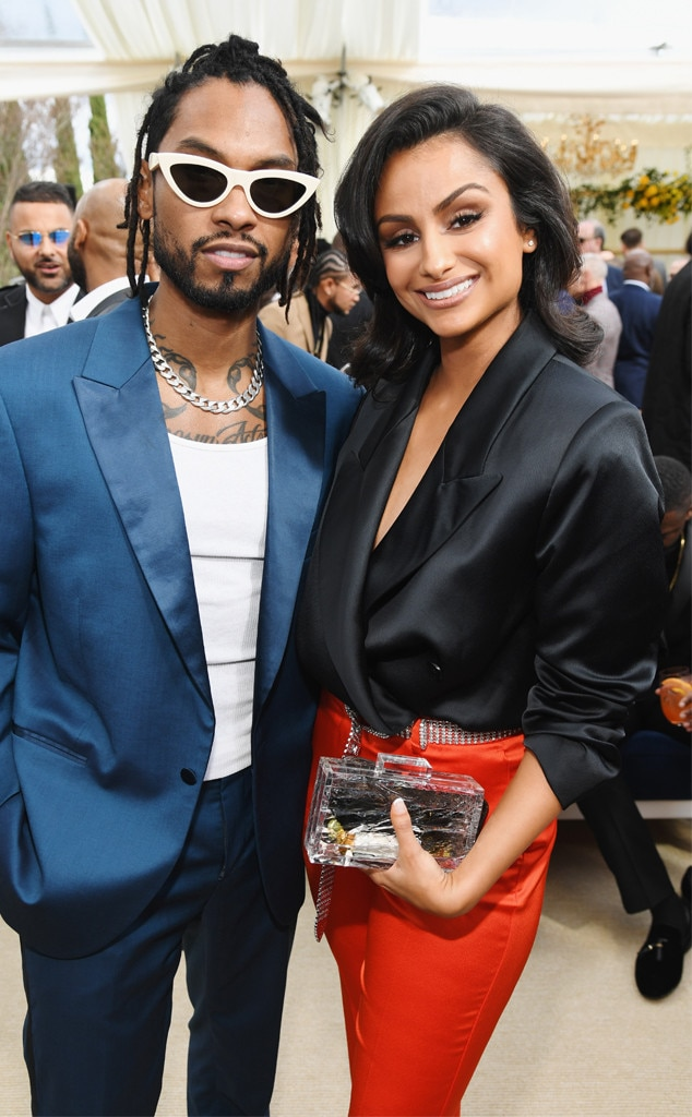 Miguel, Nazanin Mandi, Roc Nation Brunch