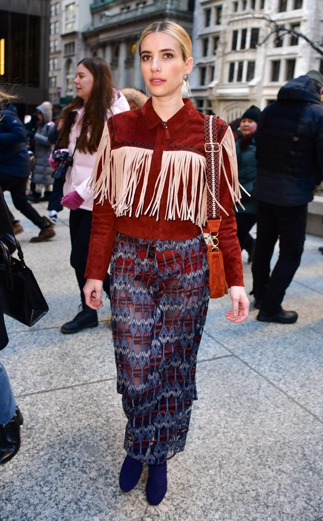 Emma Roberts -  Street style!