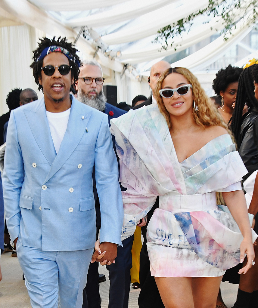 Beyonce, Jay-Z, Roc Nation Brunch