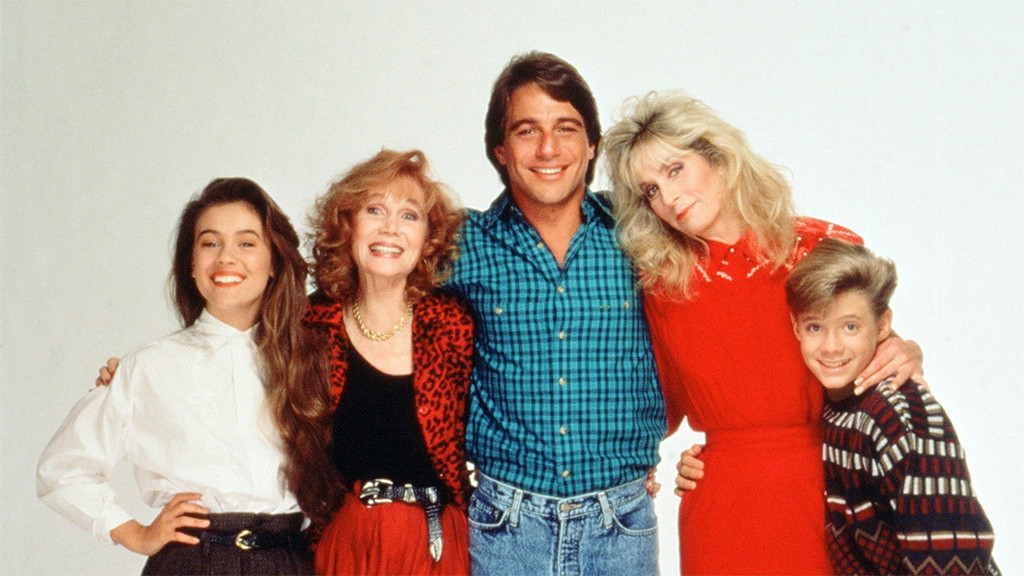 Katherine Helmond, Judith Light, Alyssa Milano, Tony Danza, Who's the Boss?