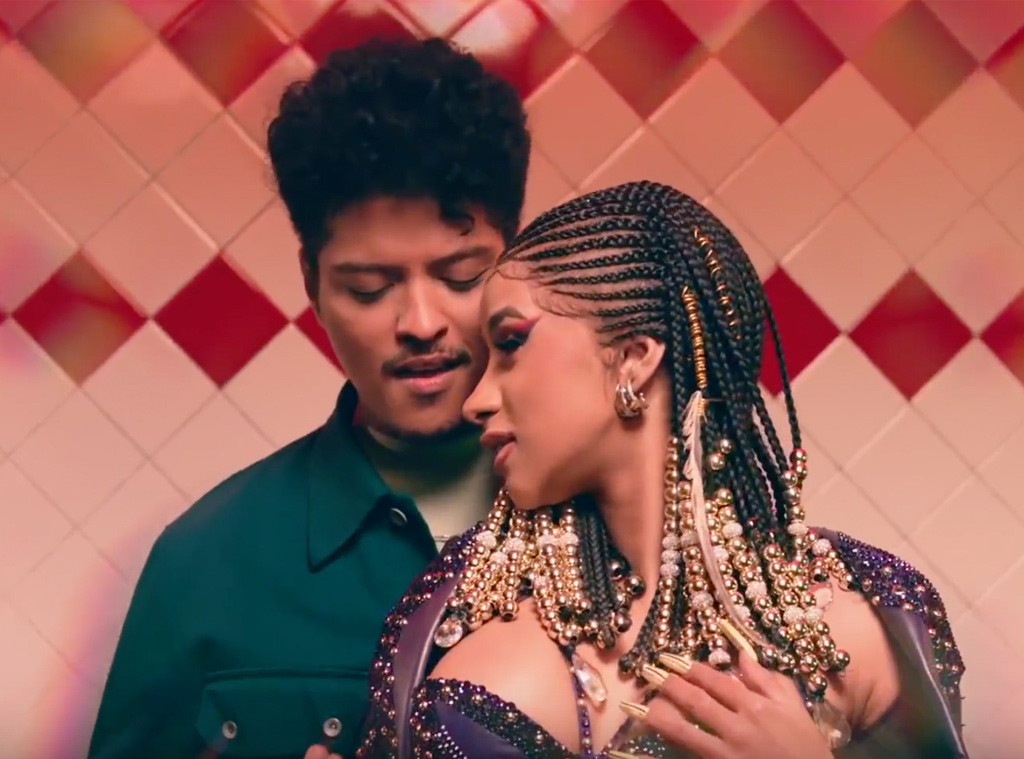 Cardi B And Bruno Mars Turn Up The Heat In Please Me Music Video E