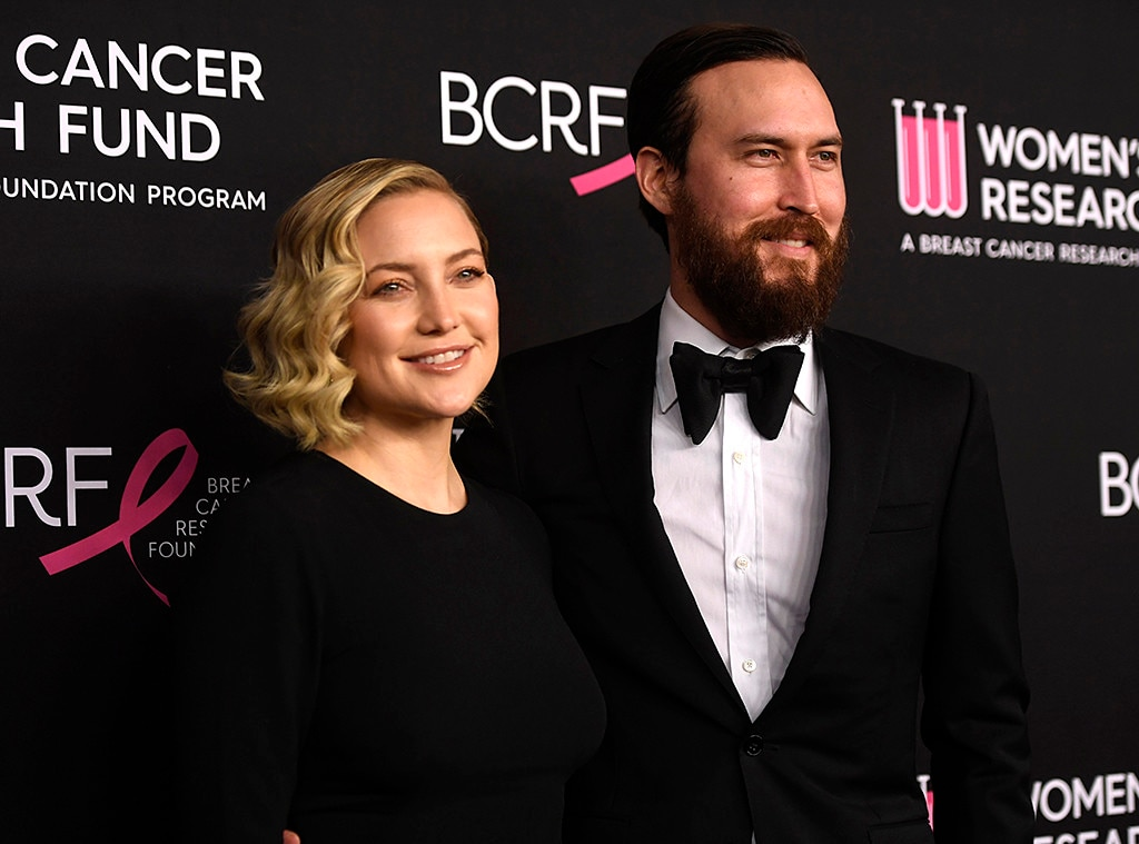 Kate Hudson & Danny Fujikawa -  The new mom of three smiled alongside her beau.