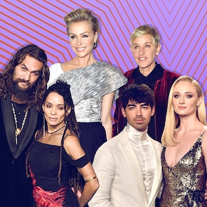 Power Couples, Lisa Bonet, Jason Momoa, Joe Jonas, Sophie Turner, Ellen DeGeneres, Portia