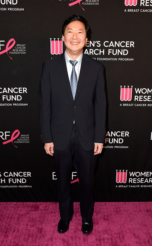 Ken Jeong -  The hilarious star looked dapper in a classic suit and tie.