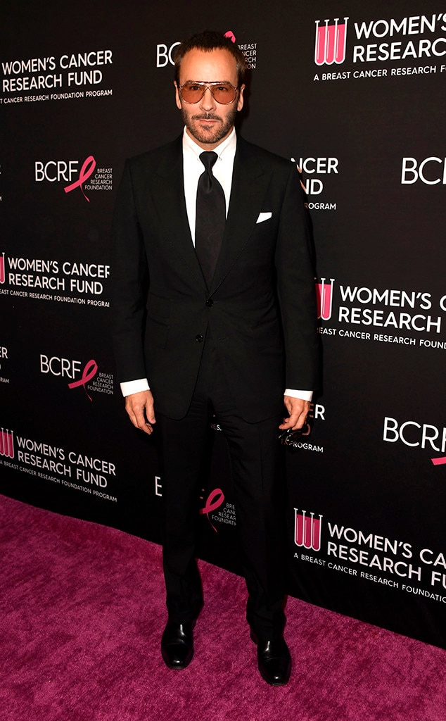 Tom Ford -  The designer hit the red carpet in a sharp suit.