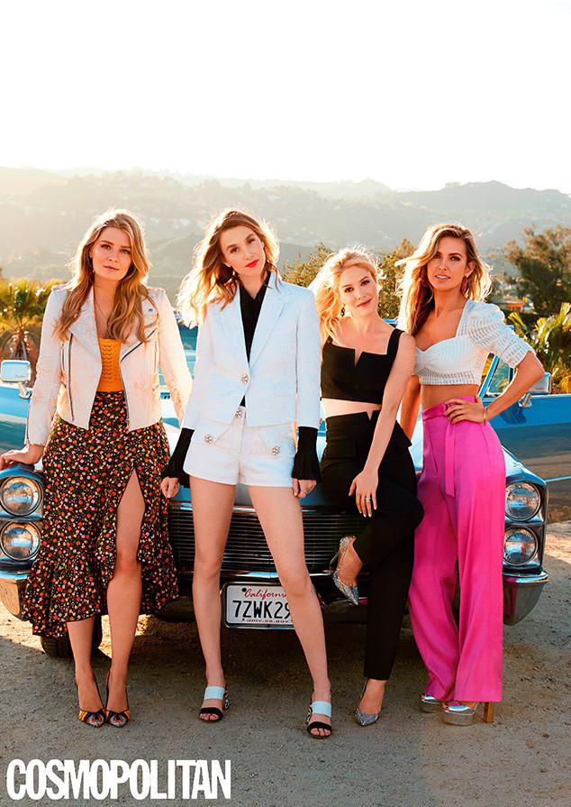 Audrina Patridge, Mischa Barton, Heidi Montag, Whitney Port, Cosmopolitan, April 2019