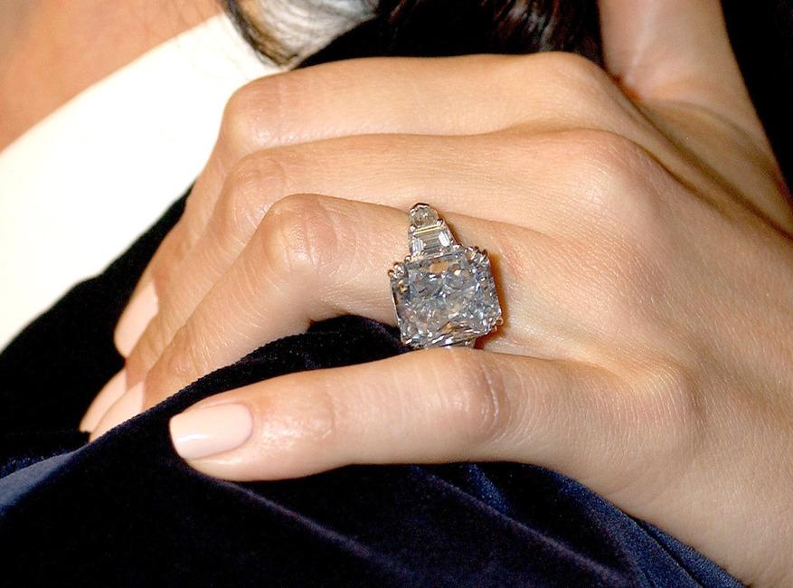 Jennifer Lopez, Engagement Ring, Marc Anthony