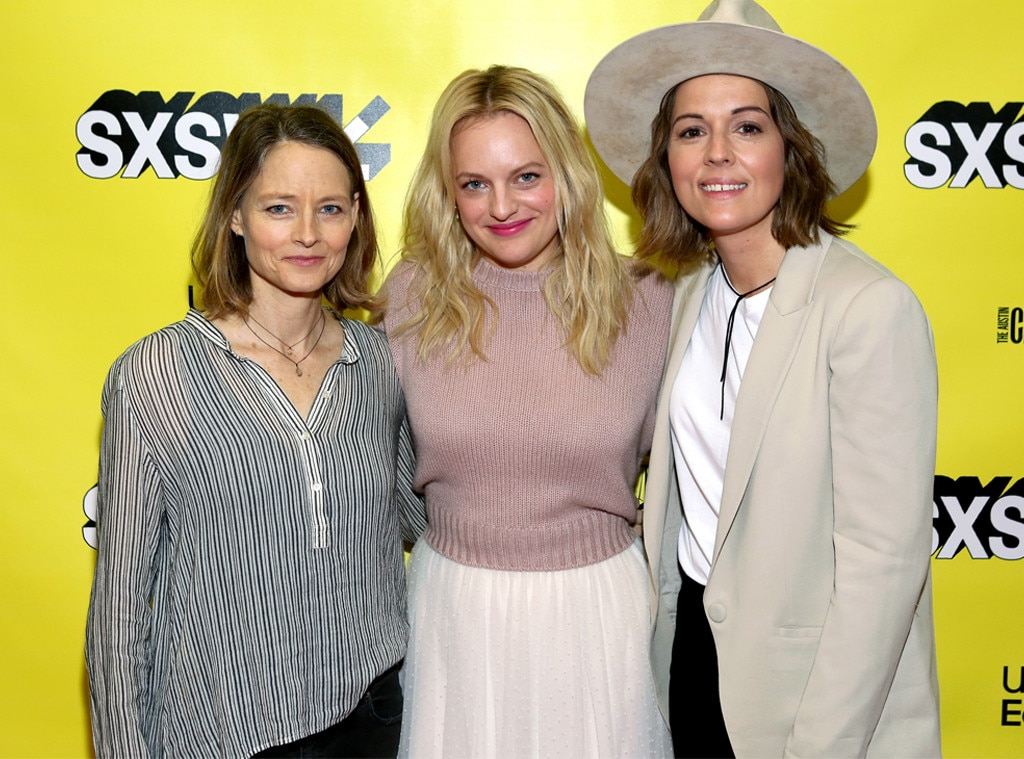 Jodie Foster, Elisabeth Moss & Brandi Carlile -  The three women pose and smile together on March 10 at the SXSW Festival.