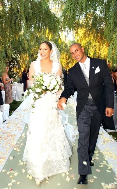 Jennifer Lopez, Cris Judd, Wedding