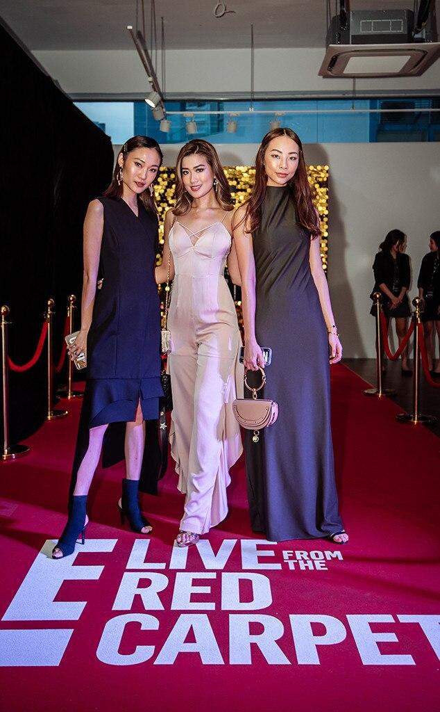Ayu Gani, Janeena Chan, Nana Law, Be Pop Cultured Party