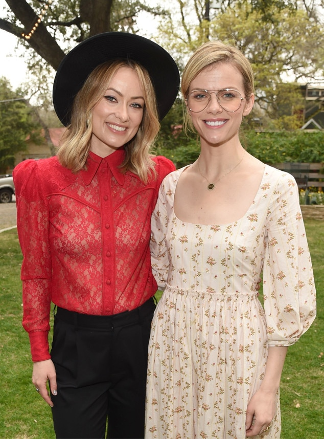 Olivia Wilde & Brooklyn Decker - Birthday girl Olivia Wilde celebrates her special day with Brooklyn Decker at a  T he Vision Council  event during SXSW.