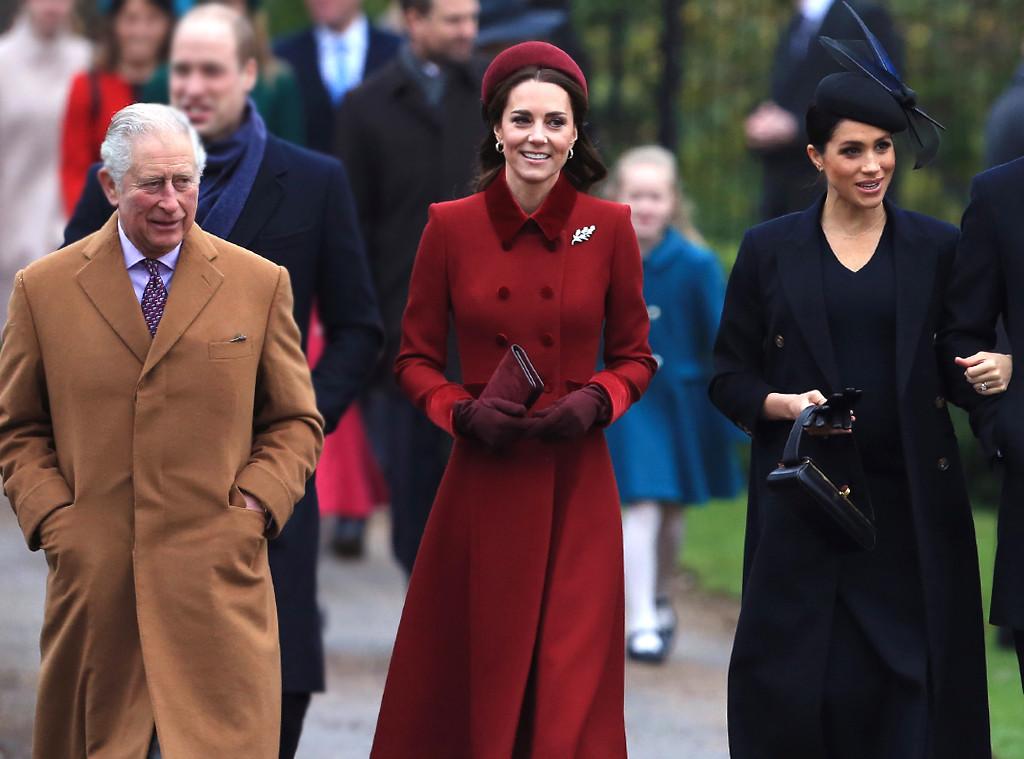 Prince Charles, Prince William, Kate Middleton, Meghan Markle