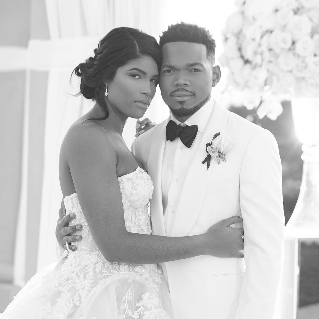 Chance the Rapper, Wedding