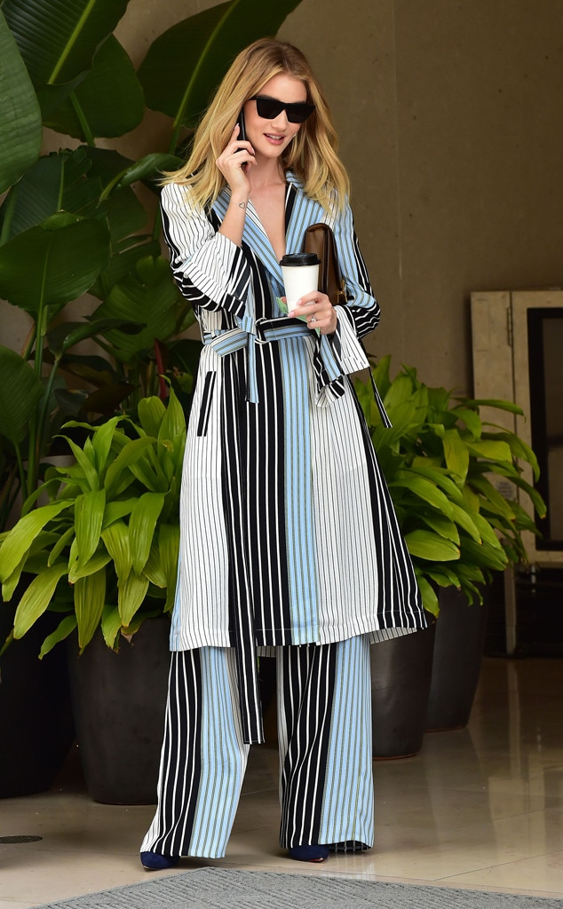 Rosie Huntington-Whiteley -  Stunning in stripes!